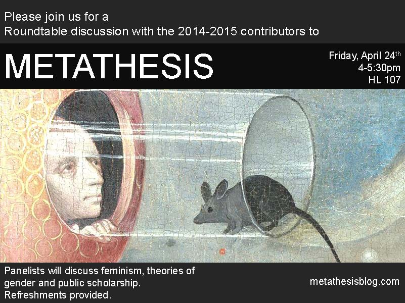 Metathesis Panel Poster