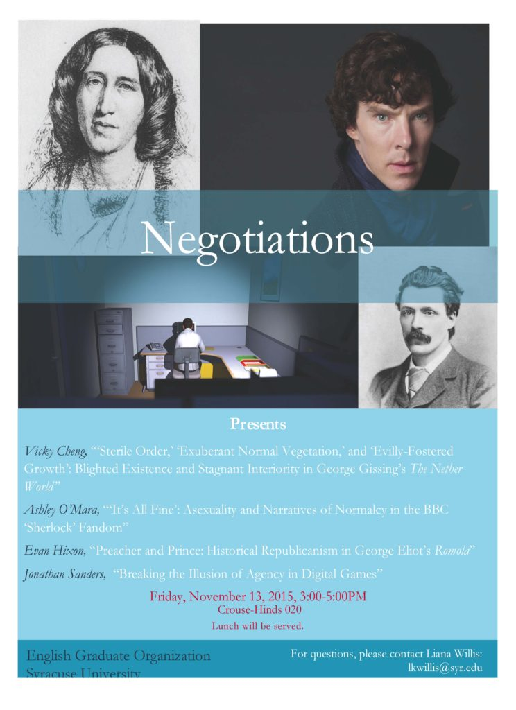 Negotiations Flyer Fall 2015