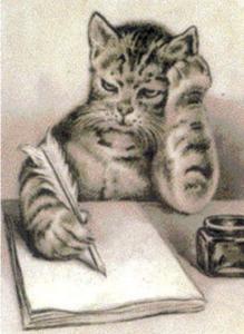 Scholar Cat Image